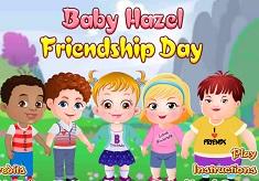 Fetita Hazel de Ziua Prieteniei