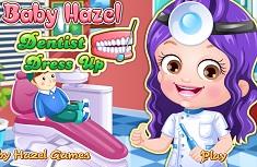 Fetita Hazel Dentist de Imbracat
