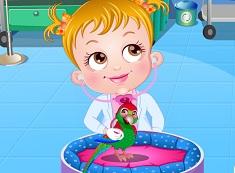 Fetita Hazel Doctor Veterinar