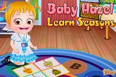 Fetita Hazel Invata Anotimpurile