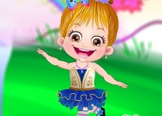 Fetita Hazel la Balet