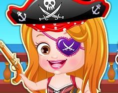 Fetita Hazel Pirat de Imbracat