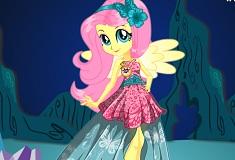 Fluttershy Gala Cristal