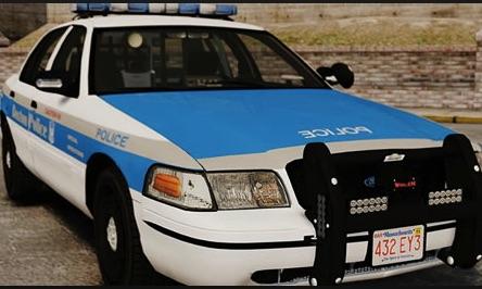 Ford Masina de Politie