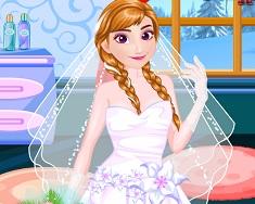 Frozen Ana Pregatiri de Nunta