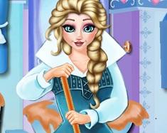 Frozen Elsa Curata Baia
