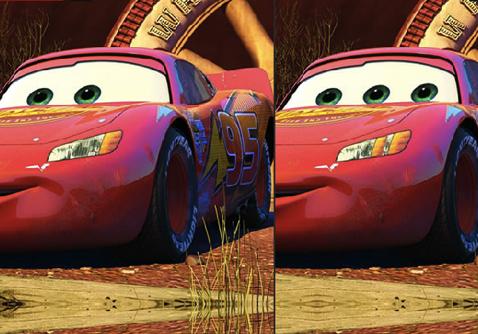 Fulger McQueen Diferente