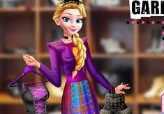 Garderoba Printesei Punk Elsa