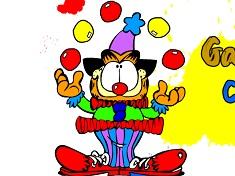 Garfield de Colorat