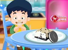 Gateste Cheesecake cu Oreo