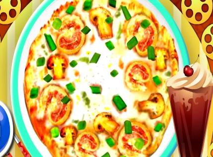 Gateste Pizza Carbonara