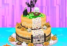 Gateste Tort Special de Halloween