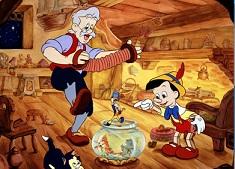 Gepetto si Pinocchio Puzzle