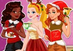 Girls Play Petrecere de Craciun