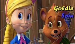 Goldie si Ursul Spin Puzzle