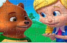 Goldie si Ursuletul Puzzle