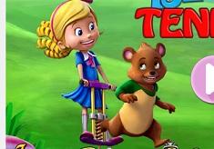 Goldie si Ursuletul Tenis de Masa