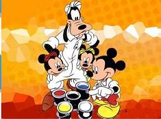 Goofy si Prietenii Zugravi Puzzle