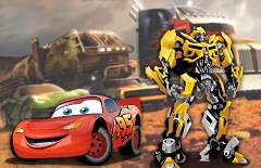 Gulger McQueen vs Transformers