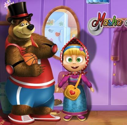 Haine pentru Masha si Ursul