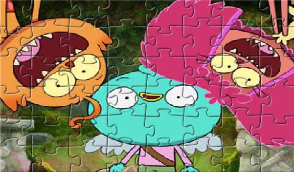 Harvey Beaks Puzzle