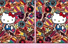 Hello Kitty Gaseste Diferentele