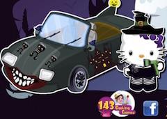 Hello Kitty Masina de Halloween