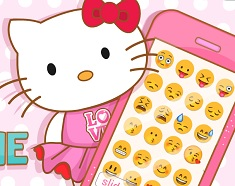 Hello Kitty si Telefonul Roz