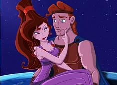 Hercules si Megara Puzzle