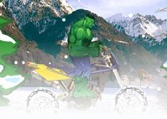 Hulk cu Snowmobilul