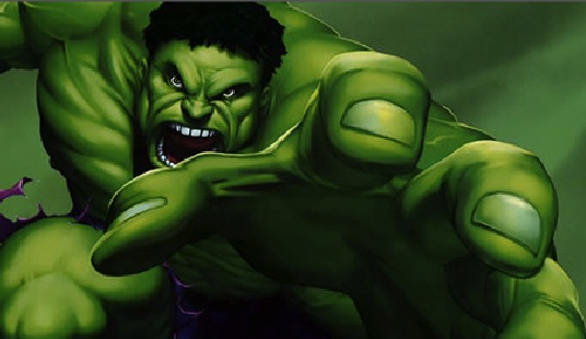 Hulk Puzzle Real