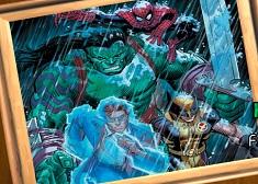Hulk si Supereroii Puzzle