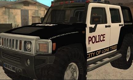 Hummer de Politie