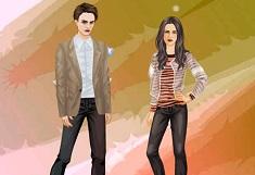 Imbraca-i pe Bella si Edward