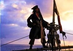 Jack Sparrow pe Corabie