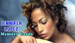 Jennifer Lopez Carti de Memorie
