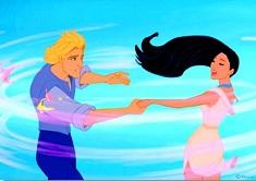 John Smith si Pocahontas