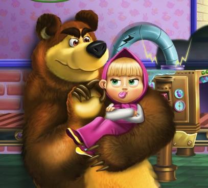 Jucariile Masha si Ursul