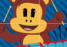 Puzzle cu Worry Bear
