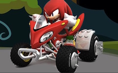 Knuckles pe ATV