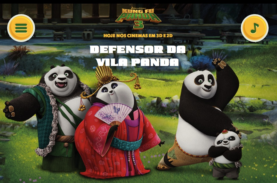 Kung Fu Panda Salveaza Ursuleti