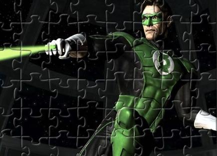Lanterna Verde Puzzle in Lupta