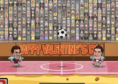 Legende Fotbal de Valentines Day