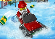 Lego Aventura de Craciun pe ATV…