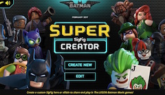 Lego Batman SigFig Creator