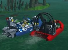 Lego City Politia Mlastinii 3D