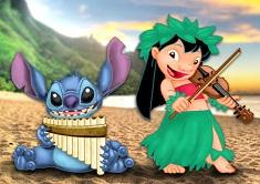 Lilo si Stitch Canta la Instrumente