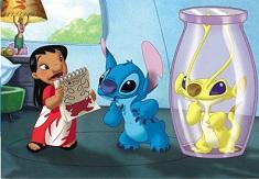 Lilo si Stitch cu Prietenul