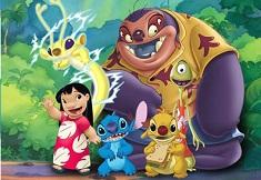 Lilo Stitch si Prietenii Puzzle