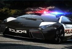 Litere pe Lamborghini